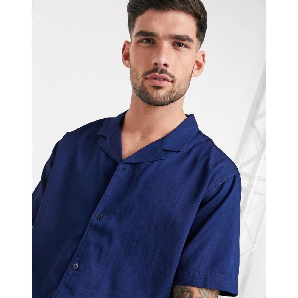 リーバイス Levi's メンズ 半袖シャツ トップス【cubano short sleeve shirt】Blue
