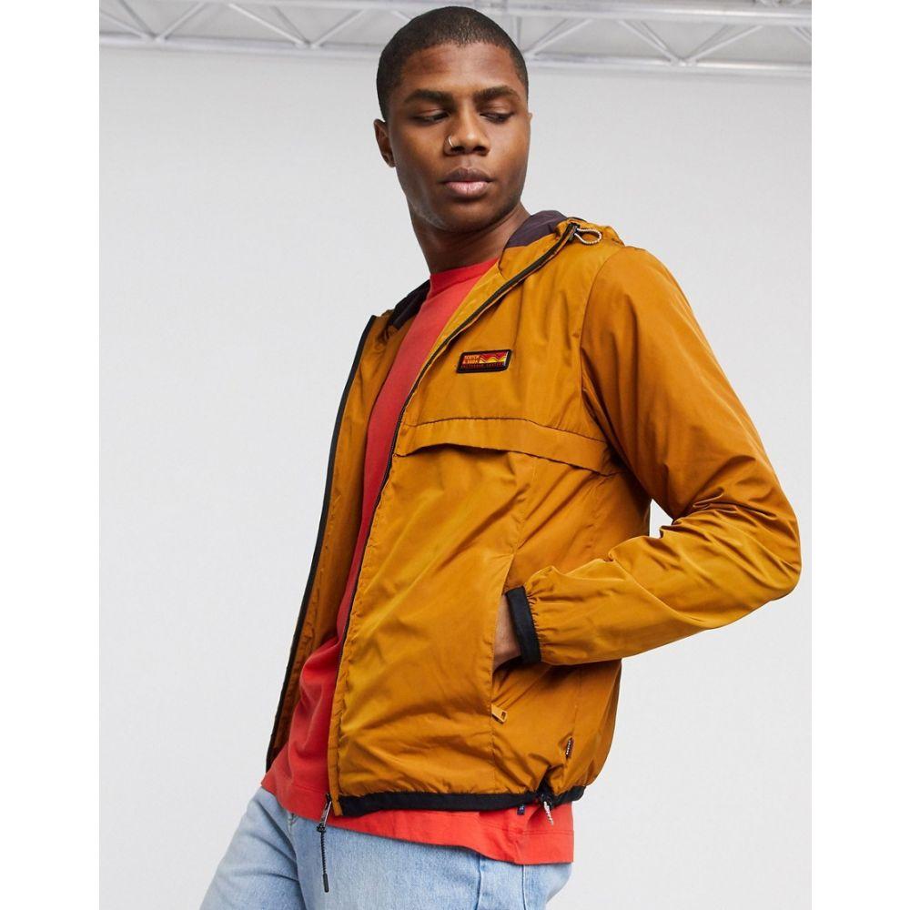 スコッチ&ソーダ Scotch & Soda メンズ ジャケット フード アウター【classic hooded nylon jacket】Brown