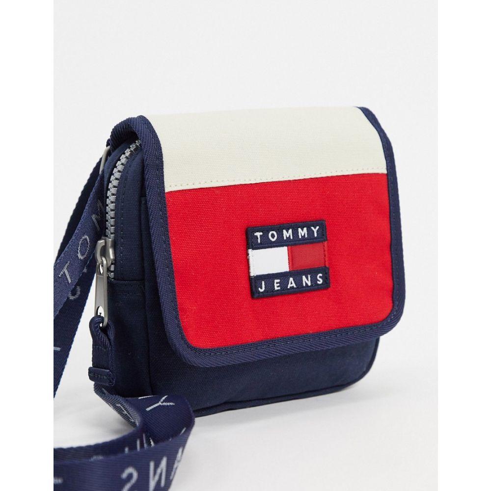 トミー ジーンズ Tommy Jeans メンズ バッグ 【heritage flap crossover bag】Navy
