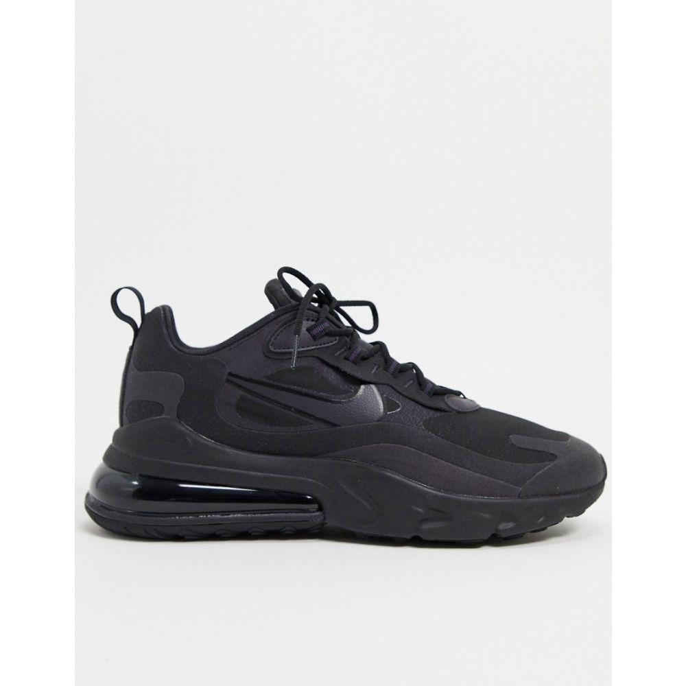 ナイキ Nike メンズ スニーカー エアマックス 270 シューズ・靴【Air Max 270 React trainers in black】Black