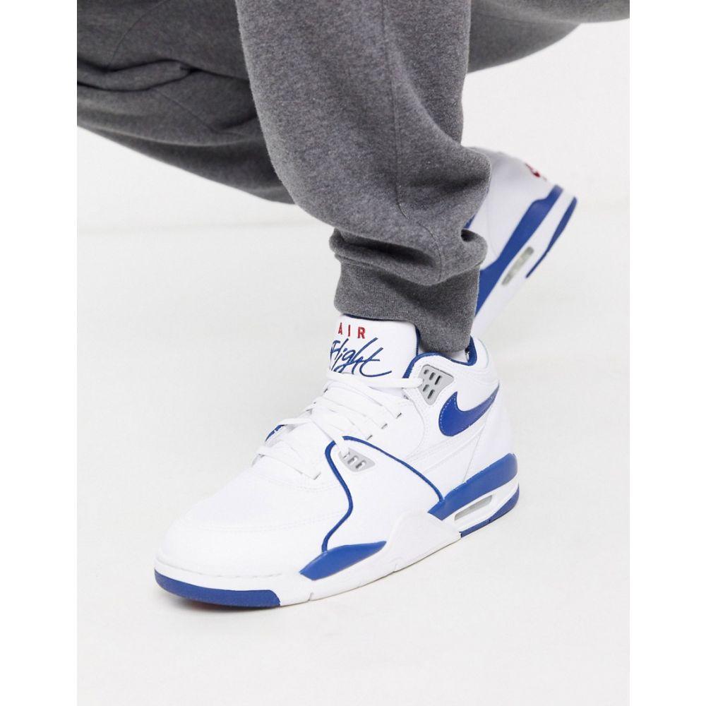 ナイキ Nike メンズ スニーカー シューズ・靴【Air Flight '89 trainers in white】White