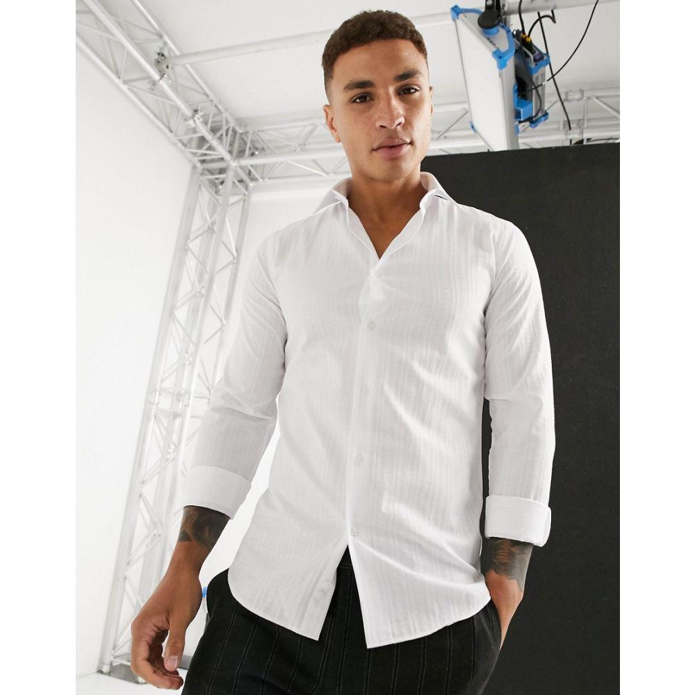 ロックストック Lockstock メンズ シャツ トップス【kingsway shirt in white】White