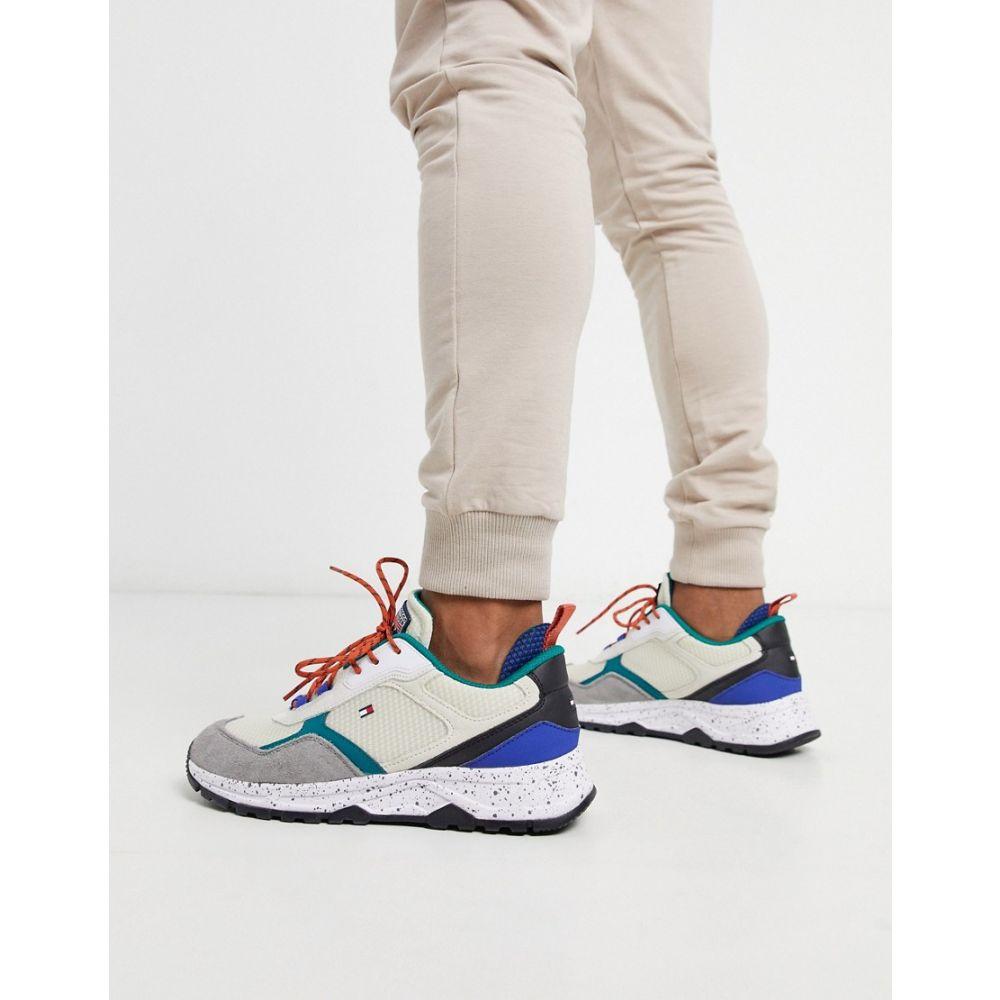 トミー ヒルフィガー Tommy Hilfiger メンズ スニーカー シューズ・靴【fashion mix sneaker in white】White