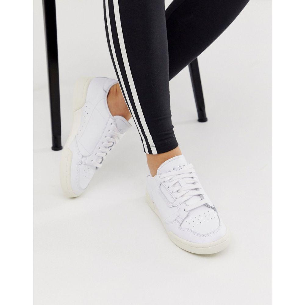 アディダス adidas Originals レディース スニーカー シューズ・靴【Home Of Classics Continental 80 in white】Ftwr white