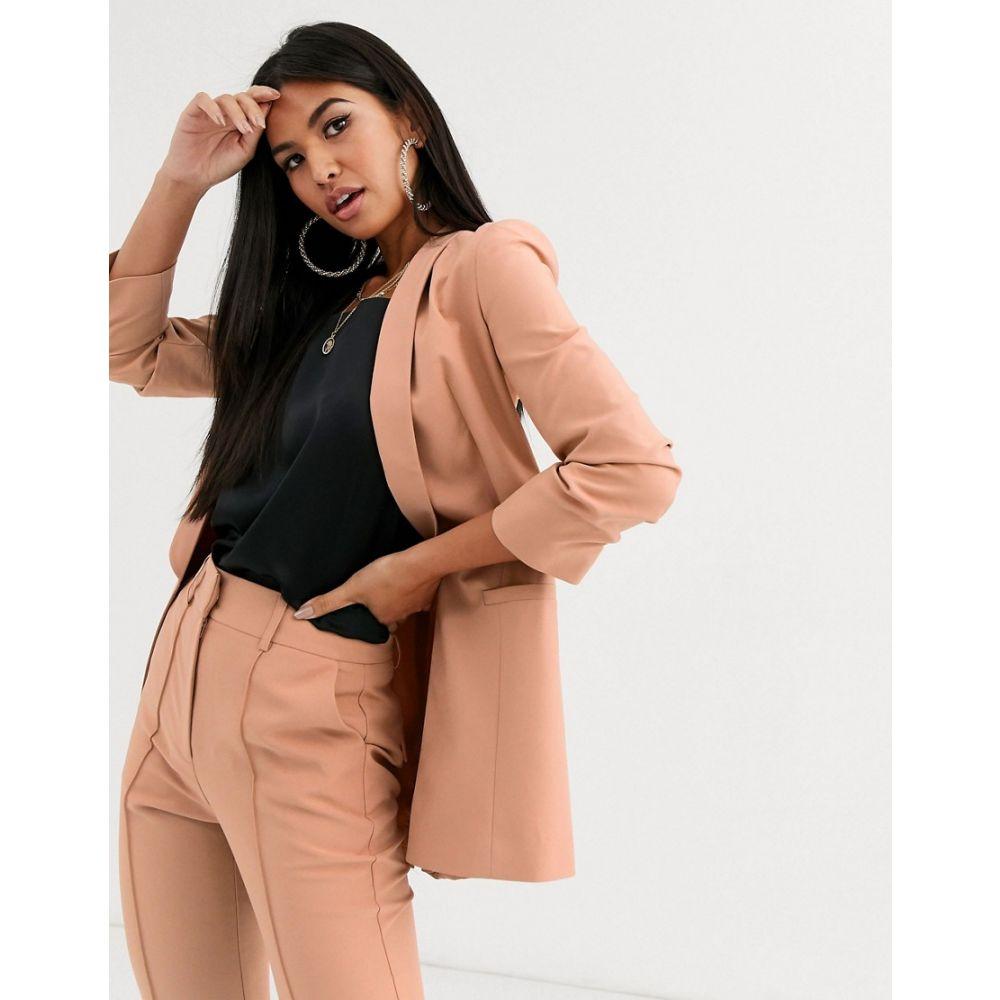 エイソス ASOS DESIGN レディース スーツ・ジャケット アウター【ASOS LUXE mix & match tailored suit blazer】Blush