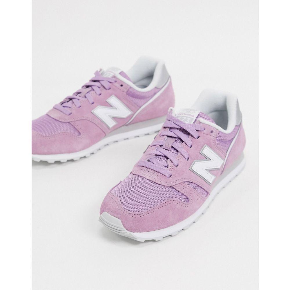 ニューバランス New Balance レディース スニーカー シューズ・靴【373 trainers in purple】Purple