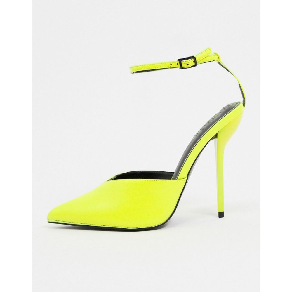 エイソス ASOS DESIGN レディース ヒール シューズ・靴【Possible pointed high heels in yellow】Yellow