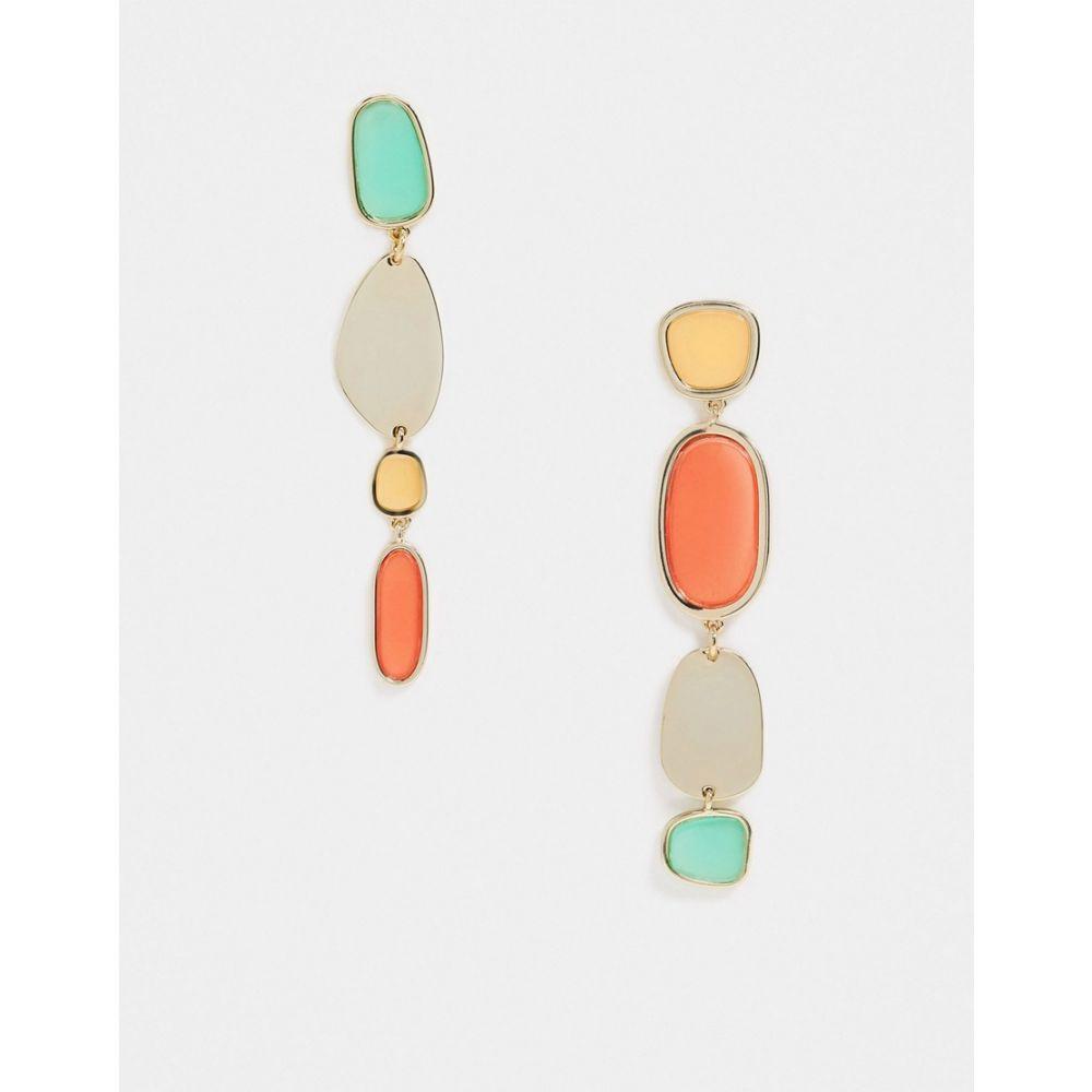 アンドアザーストーリーズ & Other Stories レディース イヤリング・ピアス ジュエリー・アクセサリー【multi stone pendant earrings in multi】Gold/turquoise