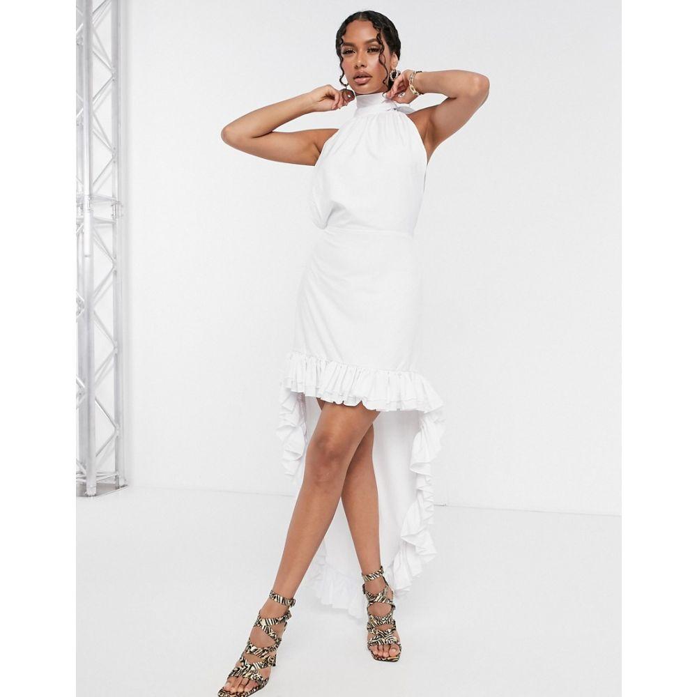 モーダ ミンクス Moda Minx レディース ワンピース ワンピース・ドレス【backless high low dress in white】White
