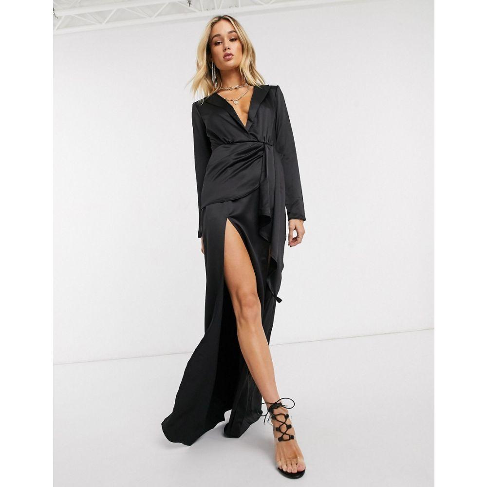 アイソウイットファースト I Saw It First レディース ワンピース ブレザードレス ワンピース・ドレス【plunge blazer dress in black】Black