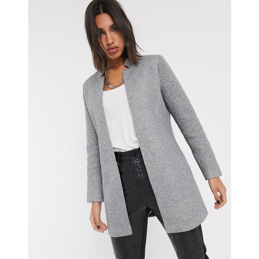 オンリー Only レディース コート アウター【tailored coat in grey】Grey