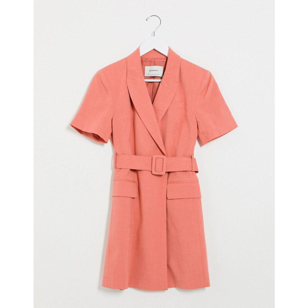 ストラディバリウス Stradivarius レディース ワンピース ブレザードレス ワンピース・ドレス【blazer dress in pink】Pink