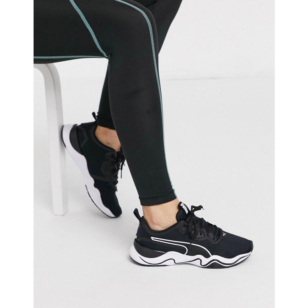 プーマ Puma レディース スニーカー シューズ・靴【Zone XT trainers in black】Black