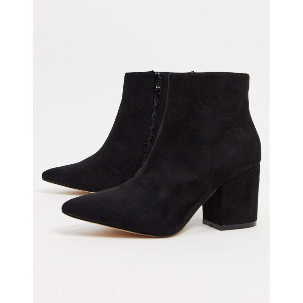 レイド Raid レディース ブーツ ショートブーツ シューズ・靴【RAID Kola ankle boots in black】Black suede