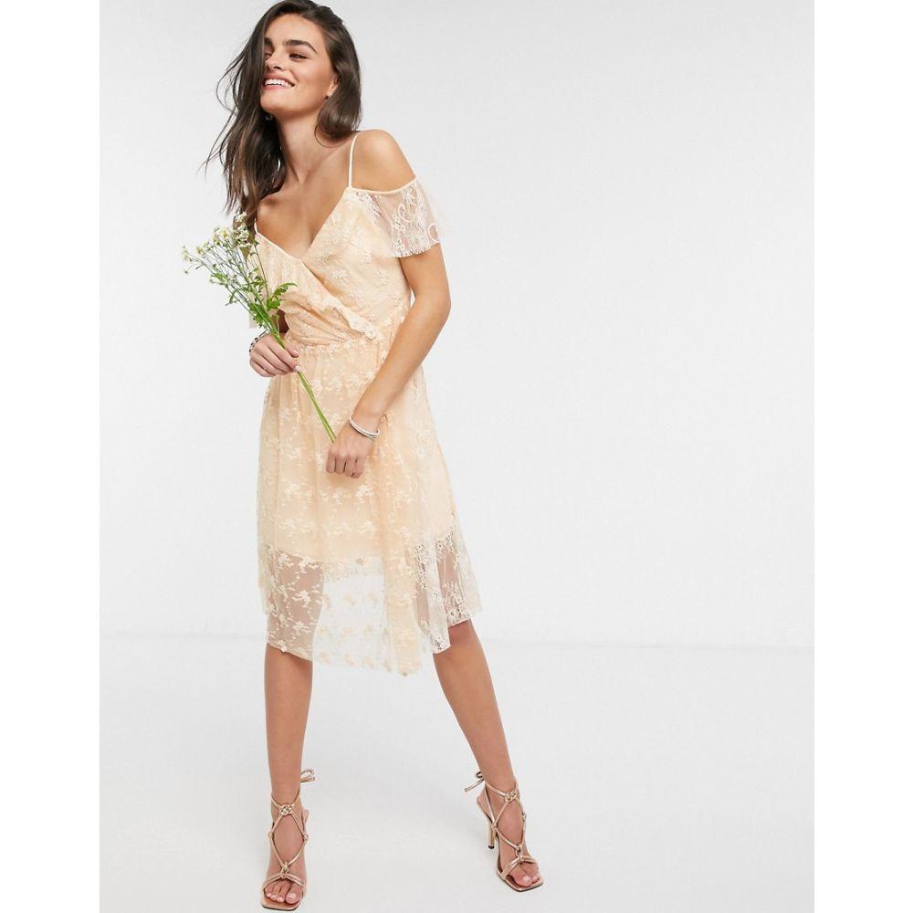 フレンチコネクション French Connection レディース ワンピース ノースリーブ ワンピース・ドレス【Sleeveless Bridesmaid Dress in Bellini】Bellini