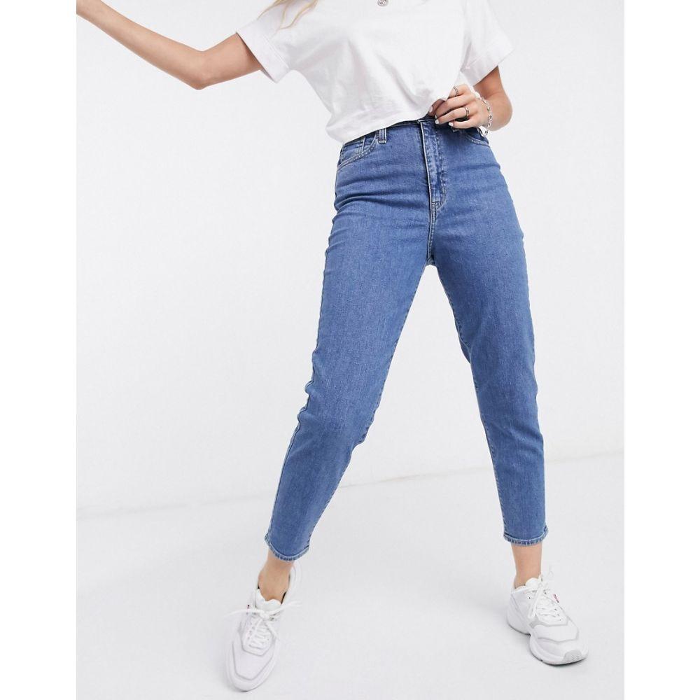 リーバイス Levi's レディース ジーンズ・デニム ボトムス・パンツ【high waisted tapered jeans in washed blue】Fyi
