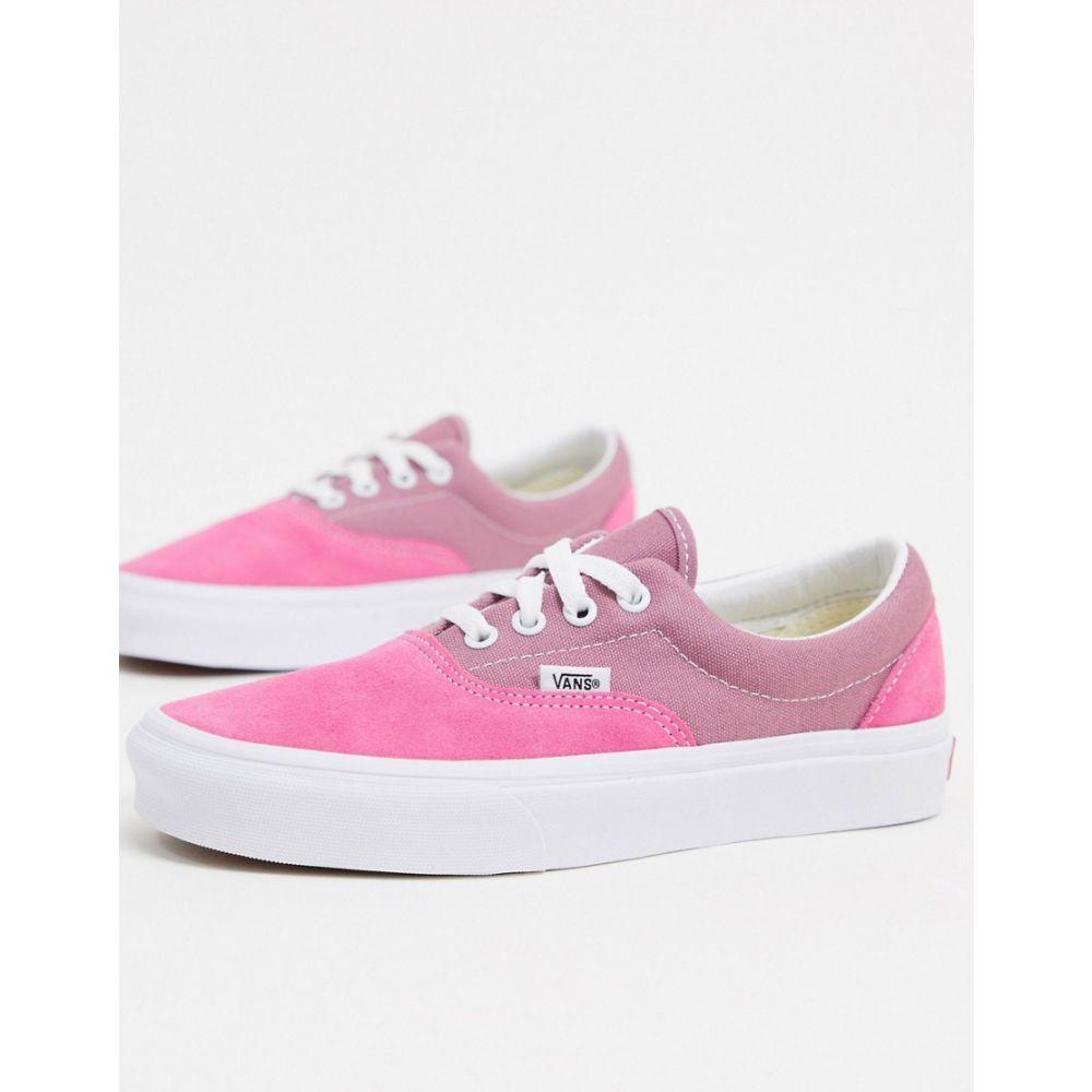 ヴァンズ Vans レディース スニーカー シューズ・靴【UA Era trainers in pink】Pink