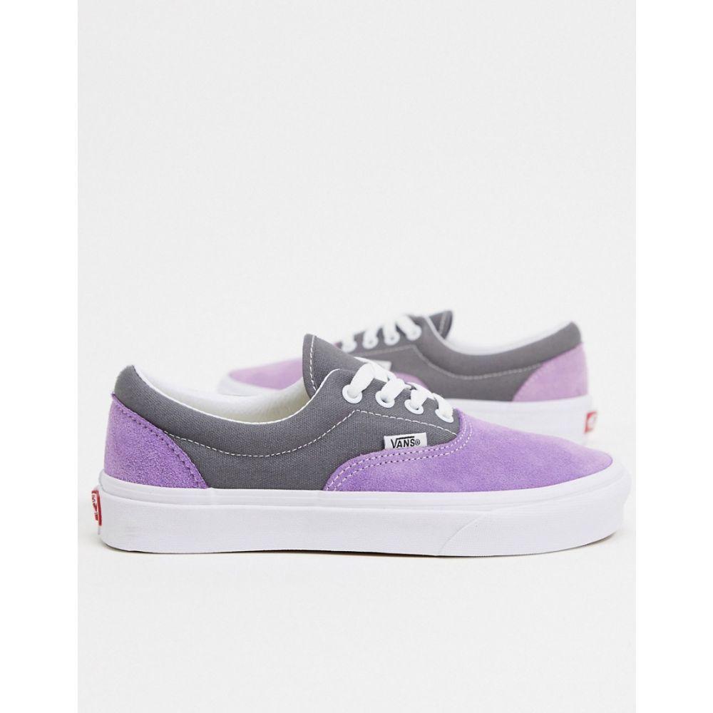ヴァンズ Vans レディース スニーカー シューズ・靴【UA Era trainers in purple】Purple