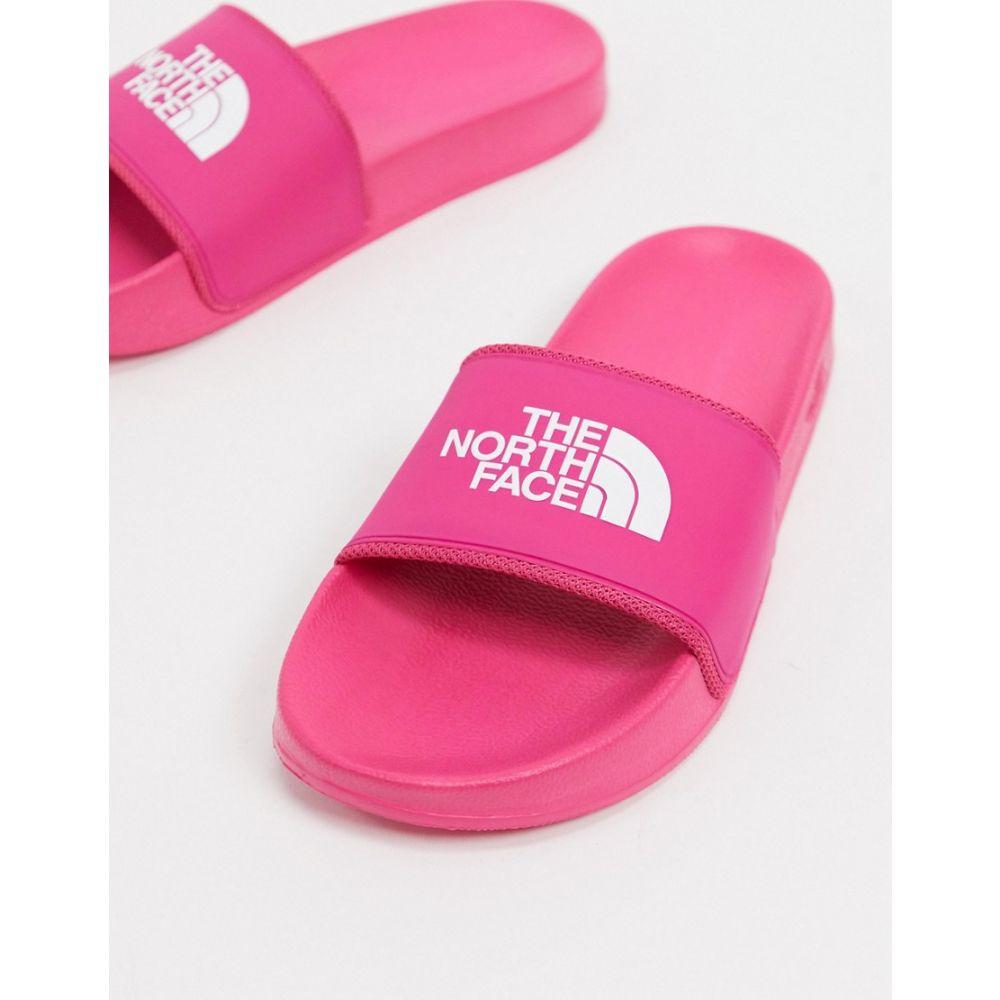 ザ ノースフェイス The North Face レディース サンダル・ミュール シューズ・靴【Base Camp slider in pink】Mr pink