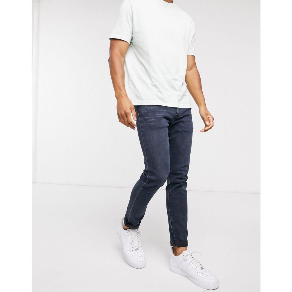 リーバイス Levi's メンズ ジーンズ・デニム ボトムス・パンツ【512 slim tapered fit jeans in biologia adv dark wash blue】Blue