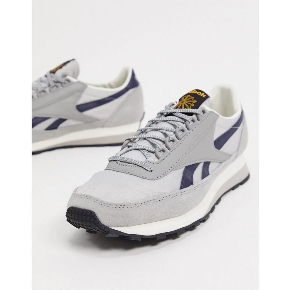 リーボック Reebok メンズ スニーカー シューズ・靴【Classics Aztec OG trainers in grey】Grey
