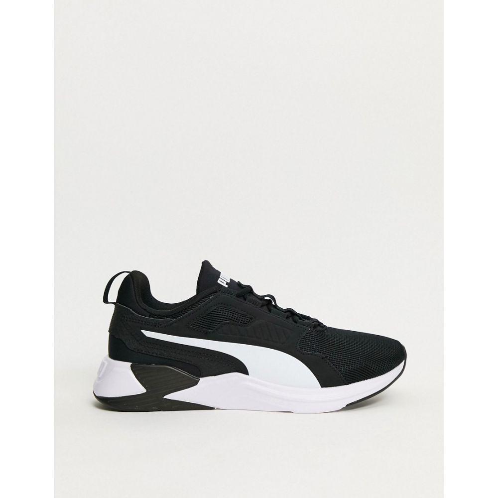 プーマ メンズ シューズ 靴 スニーカー Black サイズ交換無料 XT セールSALE%OFF black 休み Dispurse trainers Training Puma in