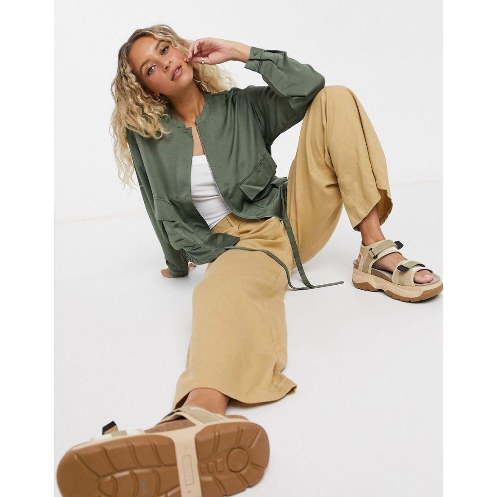 ヴェロモーダ Vero Moda レディース ジャケット アウター【utility pocket jacket in green】Beetle