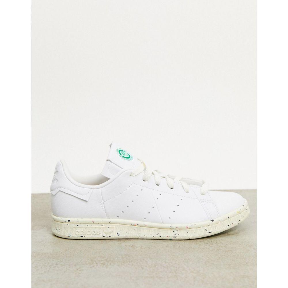 アディダス adidas Originals レディース スニーカー スタンスミス シューズ・靴【Clean Classics Sustainable Stan Smith trainers in white】White