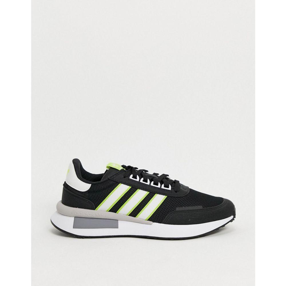 アディダス adidas Originals メンズ スニーカー シューズ・靴【retroset trainers in black】Black