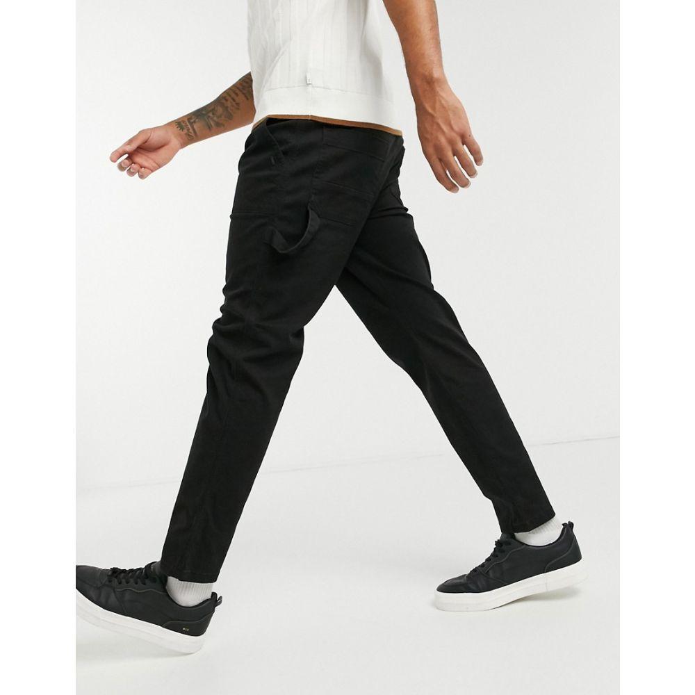 カウくる オンリーアンドサンズ Only & Sons メンズ ボトムス・パンツ 【Workwear Casual Trouser】Black, スニーカー靴激安通販 Reload 0949c04a