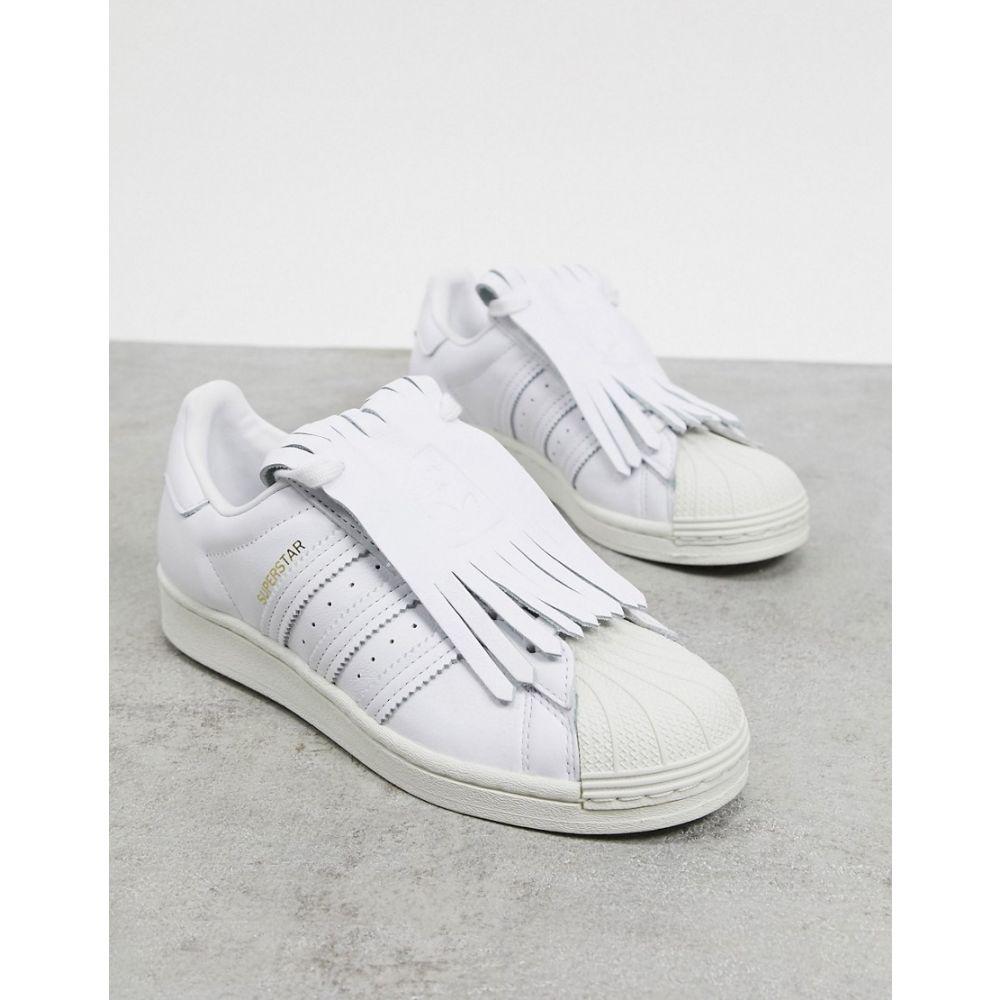 アディダス レディース シューズ 靴 買い取り ショッピング スニーカー White Originals サイズ交換無料 Superstar adidas Trainers