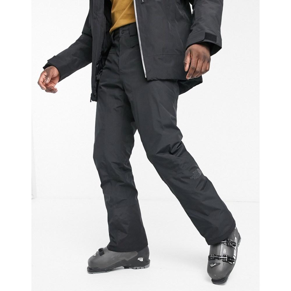 ザ ノースフェイス 新作入荷!! メンズ スキー スノーボード ボトムス パンツ Tnf black pant The ski Presena North in Face サイズ交換無料 今だけ限定15%OFFクーポン発行中