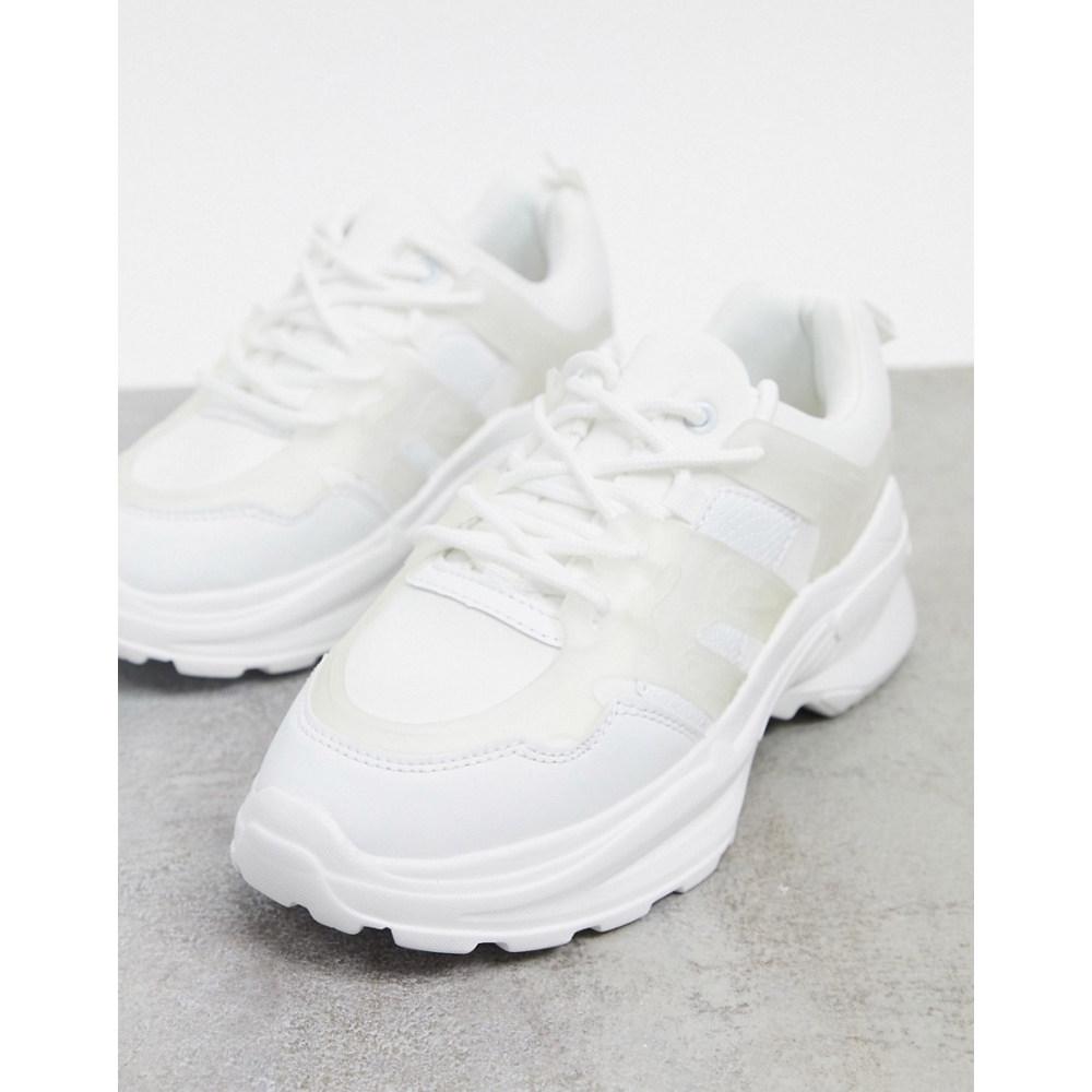 トリュフコレクション レディース trainers Truffle チャンキーヒール chunky Collection white】White collection in スニーカー シューズ・靴【Truffle