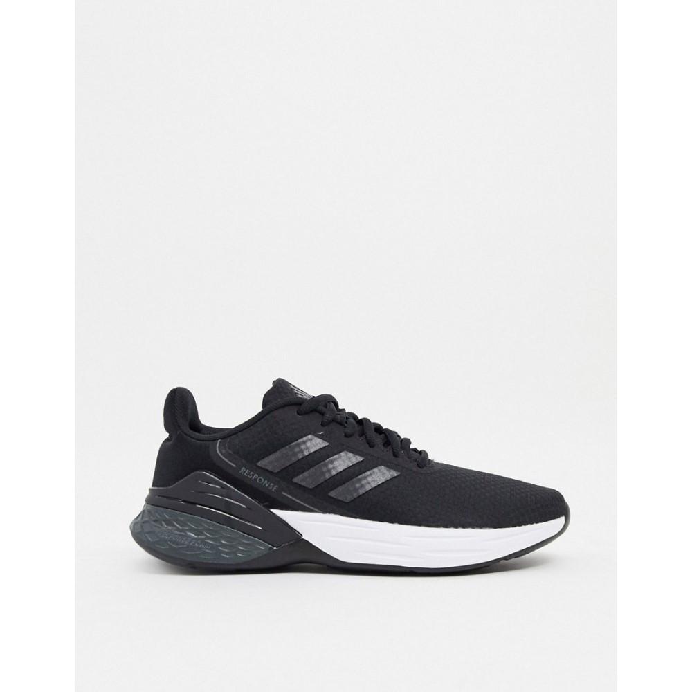 <title>アディダス レディース ランニング ウォーキング シューズ 靴 Black サイズ交換無料 adidas performance Adidas Running Response Sr Trainers In And White お買得</title>