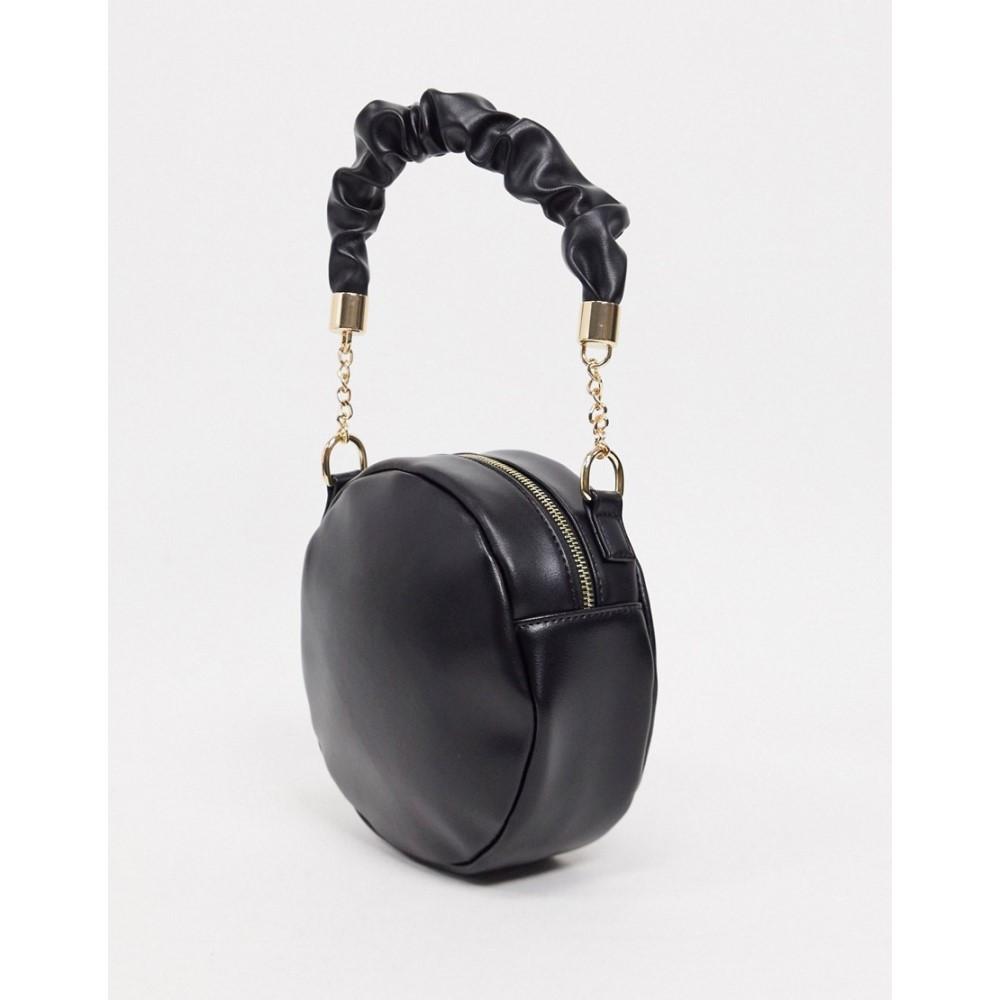 【送料関税無料】 セブンエックス Black】Black SVNX レディース バッグ【Circle Bag With Scruchie Scruchie Strap Bag In Black】Black, webby mono:c78675ae --- delipanzapatoca.com