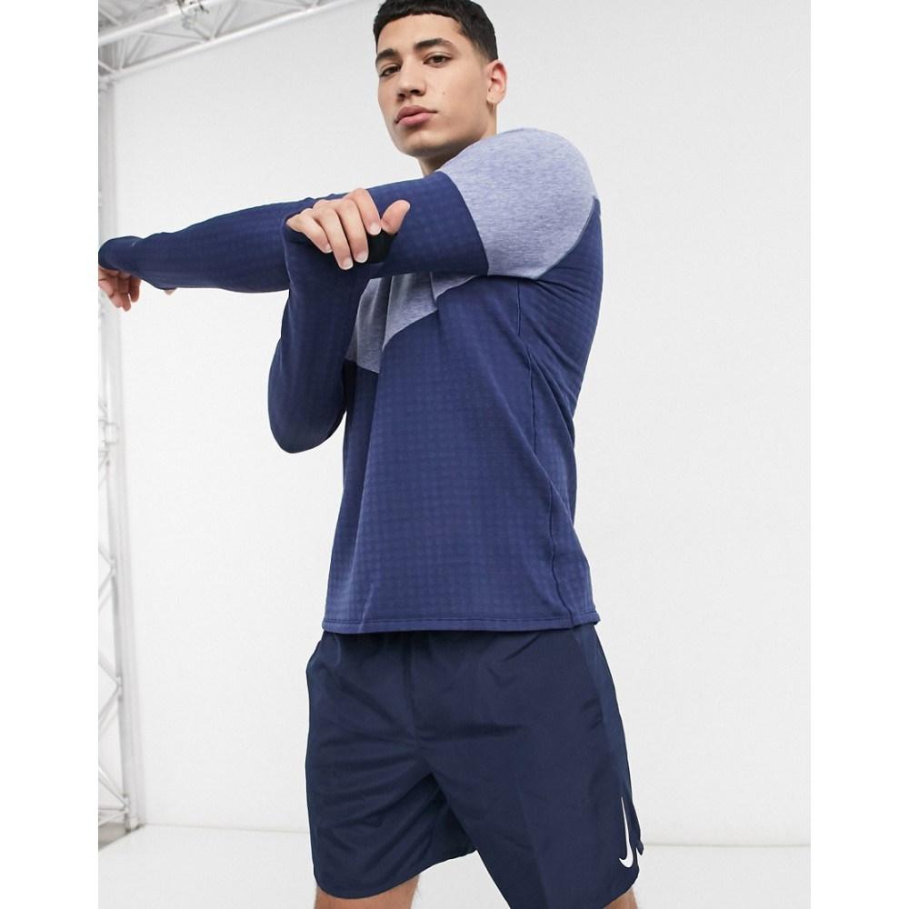 数量は多い  ナイキ Nike Running メンズ ランニング Long・ウォーキング トップス【Run Element Division ランニング・ウォーキング Element Sphere Long Sleeve Top In Blue】Blue, ベストプライス ラック:a53306c0 --- kventurepartners.sakura.ne.jp