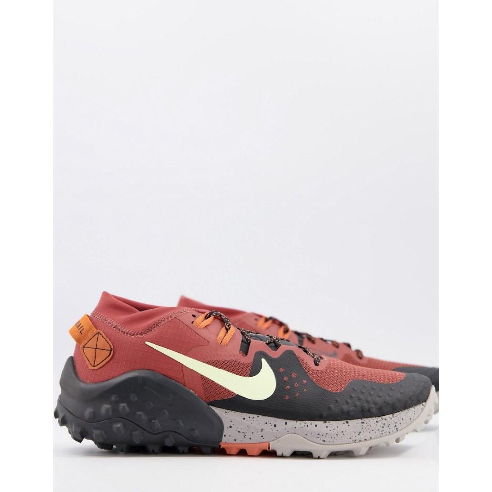 宅配便送料無料 ナイキ メンズ シューズ 靴 スニーカー お気にいる Orange サイズ交換無料 Nike Running rust trainers Wildhorse in 6