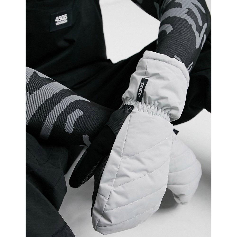 エイソス メンズ スキー スノーボード グローブ Grey サイズ交換無料 ASOS 期間限定今なら送料無料 ミトン Ski Asos Mittens Quilting With メーカー公式ショップ 4505