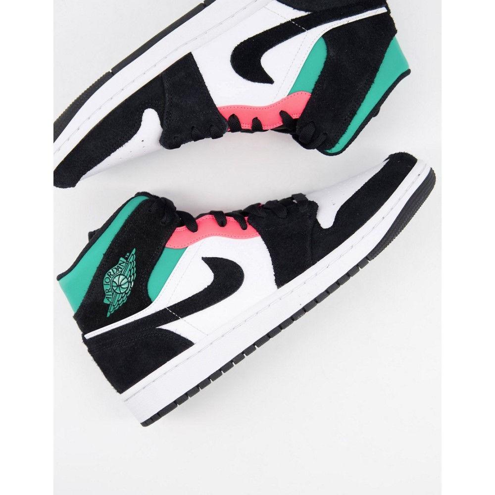 優先配送 ナイキ ジョーダン メンズ シューズ 靴 スニーカー White green サイズ交換無料 Trainers Jordan Nike And 1 Mid In Air Green 評判