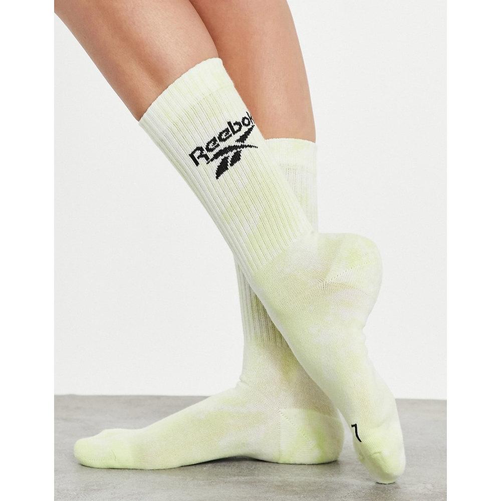 リーボック レディース インナー 下着 ソックス Yellow 激安 激安特価 送料無料 誕生日 お祝い Reebok semi Summer socks Retreat energy in glow