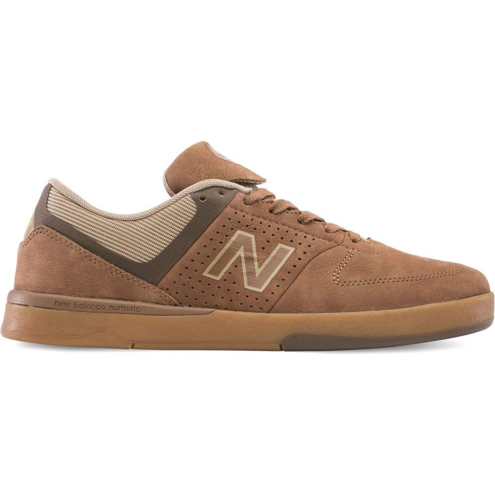 【残り一点限り!】【サイズ:10.5】ニューバランス New Balance【Numeric 533 V2 Skate Shoes Brown/Gum】メンズ スケートボード シューズ・靴【あす楽】