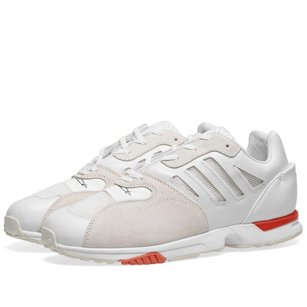 【残り一点限り!】【サイズ:UK8】ワイスリー ADIDAS Y3【Y-3 zx run Off White/Black】メンズ シューズ・靴 スニーカー【あす楽】