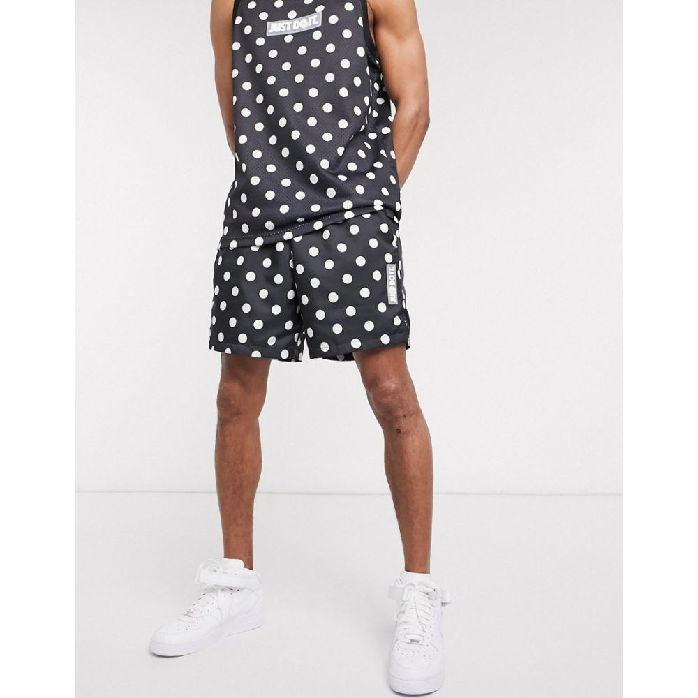 【残り一点限り!】【サイズ:2XL】ナイキ Nike Golf【Nike Just Do It polka-dot woven shorts in black】メンズ ボトムス・パンツ ショートパンツ【あす楽】
