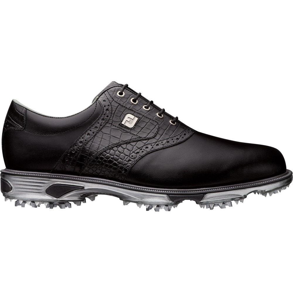 【残り一点限り!】【サイズ:9-M】フットジョイ【DryJoys Tour Saddle Golf Shoes Black】メンズ ゴルフ シューズ・靴【あす楽】