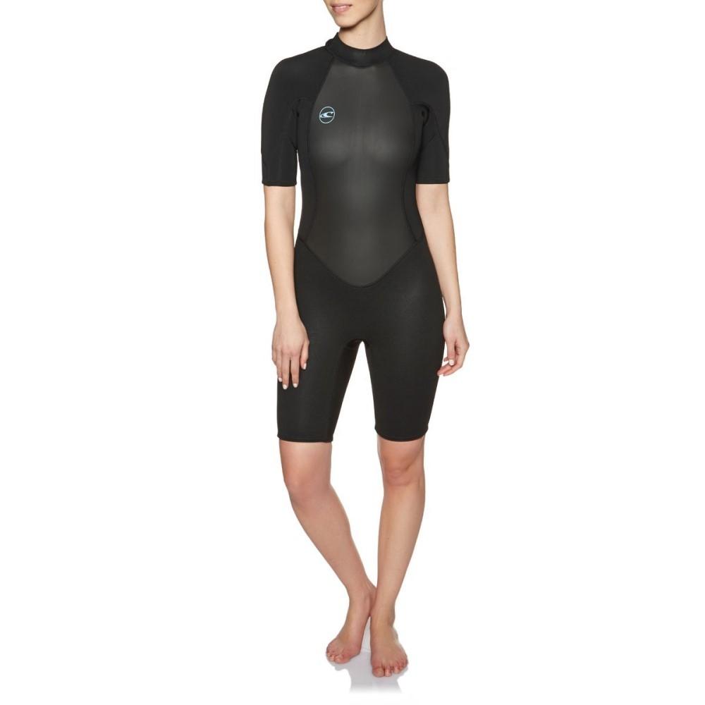 【残り一点限り!】【サイズ:14】オニール【Reactor II 2mm Back Zip Shorty Wetsuit】レディース 水着・ビーチウェア ウェットスーツ【あす楽】