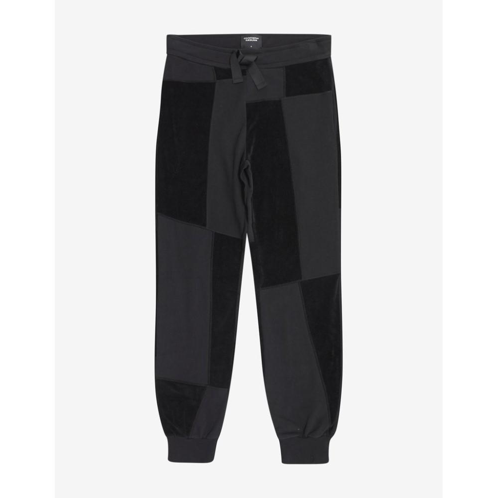 クリストファー レイバーン Christopher Raeburn メンズ ボトムス・パンツ スウェット・ジャージ【Jersey Mix Sweat Pants】Black