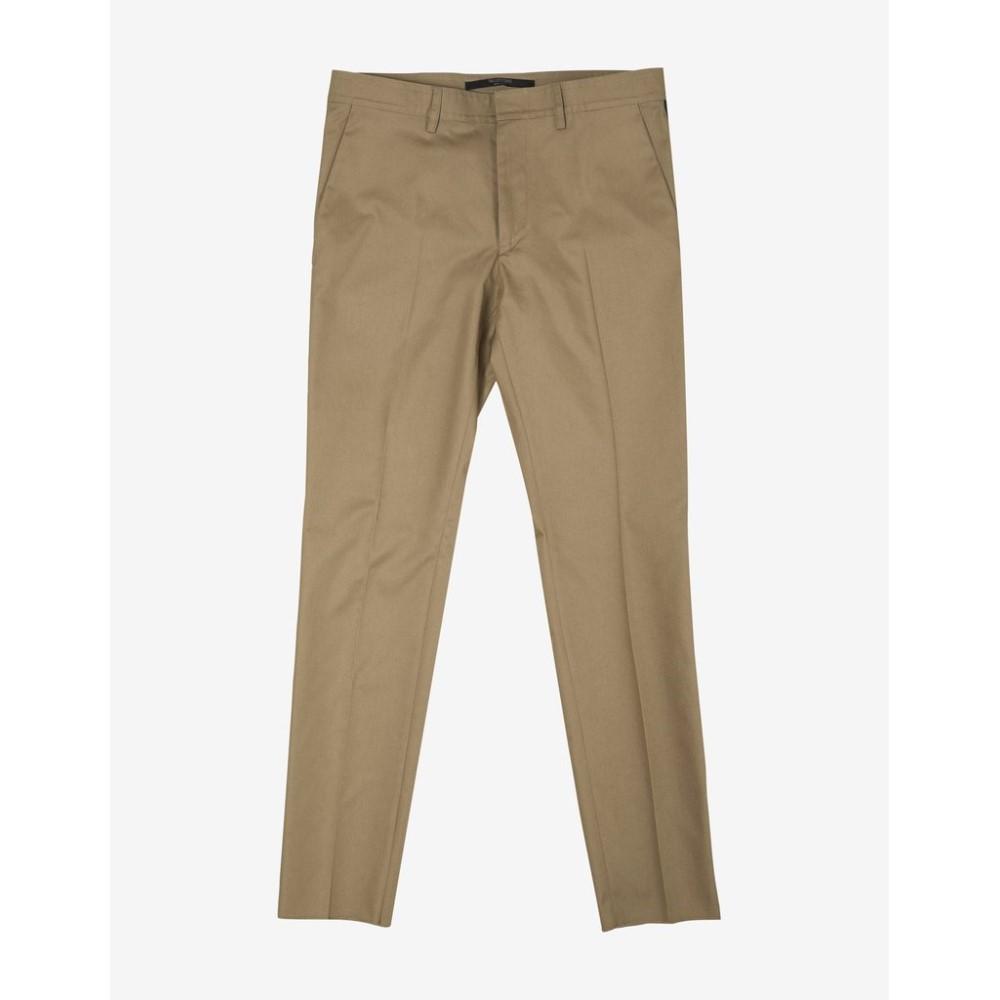 ヴァレンティノ Valentino メンズ ボトムス・パンツ【Trousers with Contrast Trim】Beige