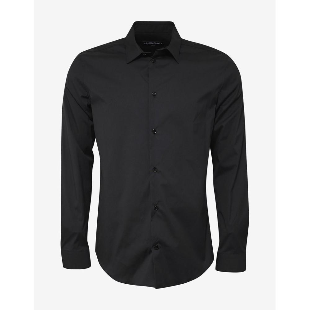バレンシアガ Balenciaga メンズ トップス シャツ【Slim Fit Shirt】Black