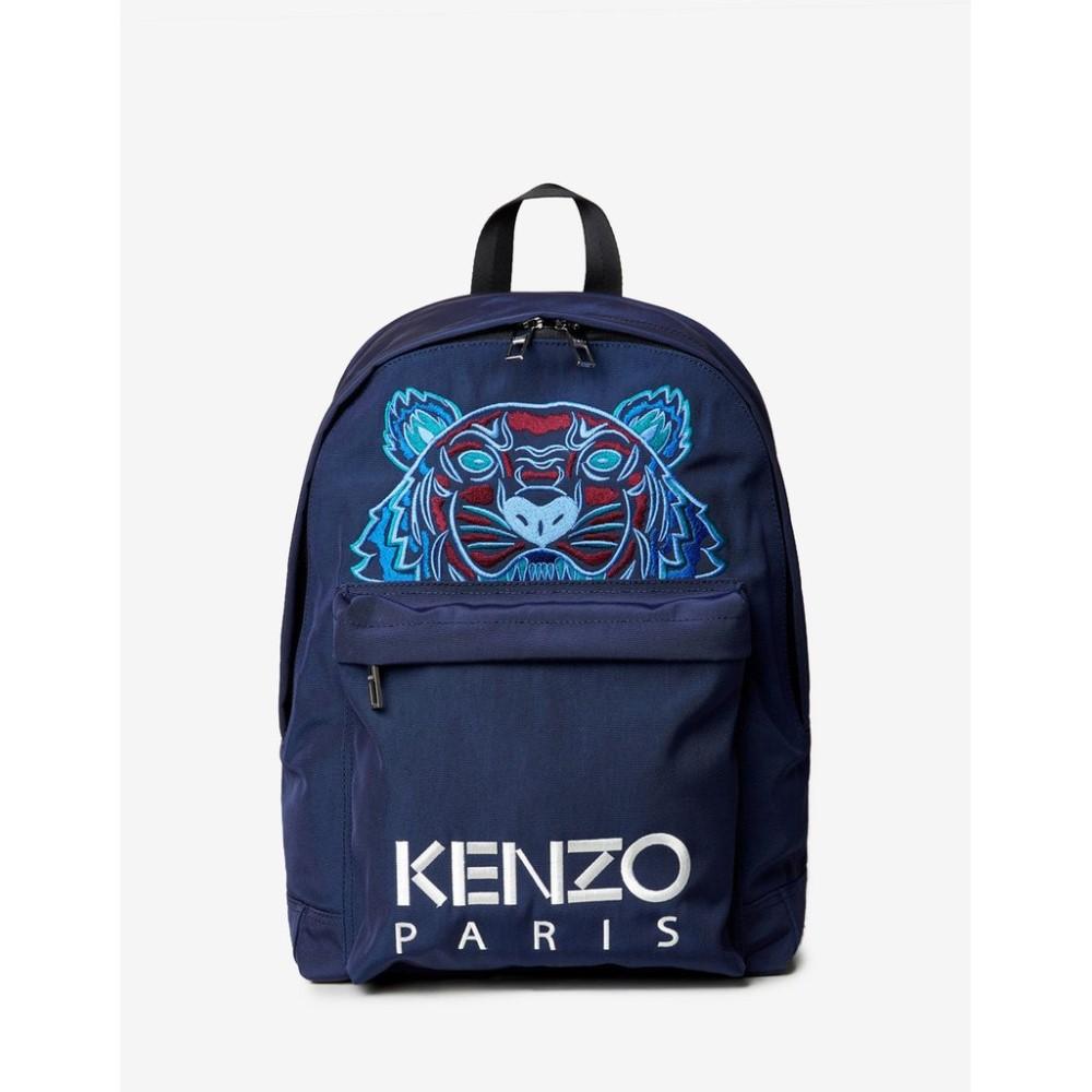 ケンゾー Kenzo メンズ バッグ バックパック・リュック【Tiger Canvas Large Backpack】Blue