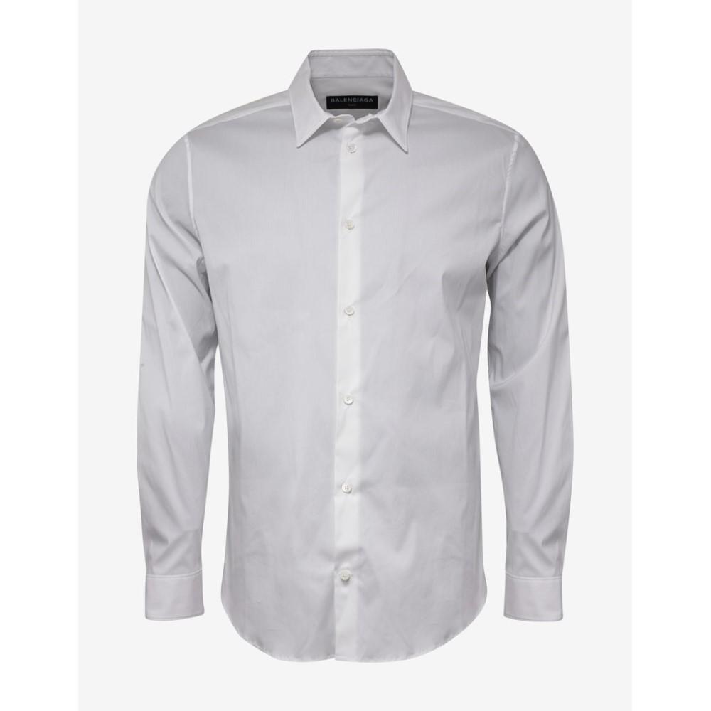 バレンシアガ Balenciaga メンズ トップス シャツ【Slim Fit Shirt】White